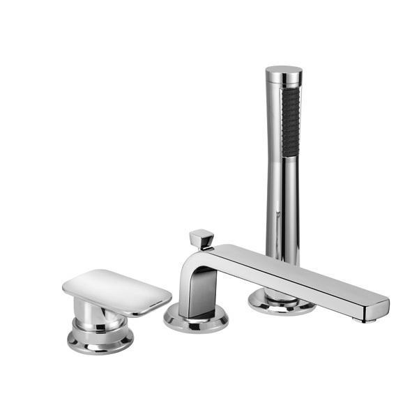 Смеситель для ванны с душем Kludi E2 494470575 428210577 смеситель для кухни хром kludi