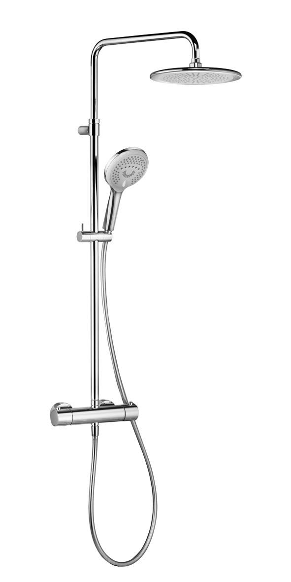 Фото - Душевой гарнитур Kludi Freshline dual shower system 6709205-00 душевая система kludi freshline 6709205 00