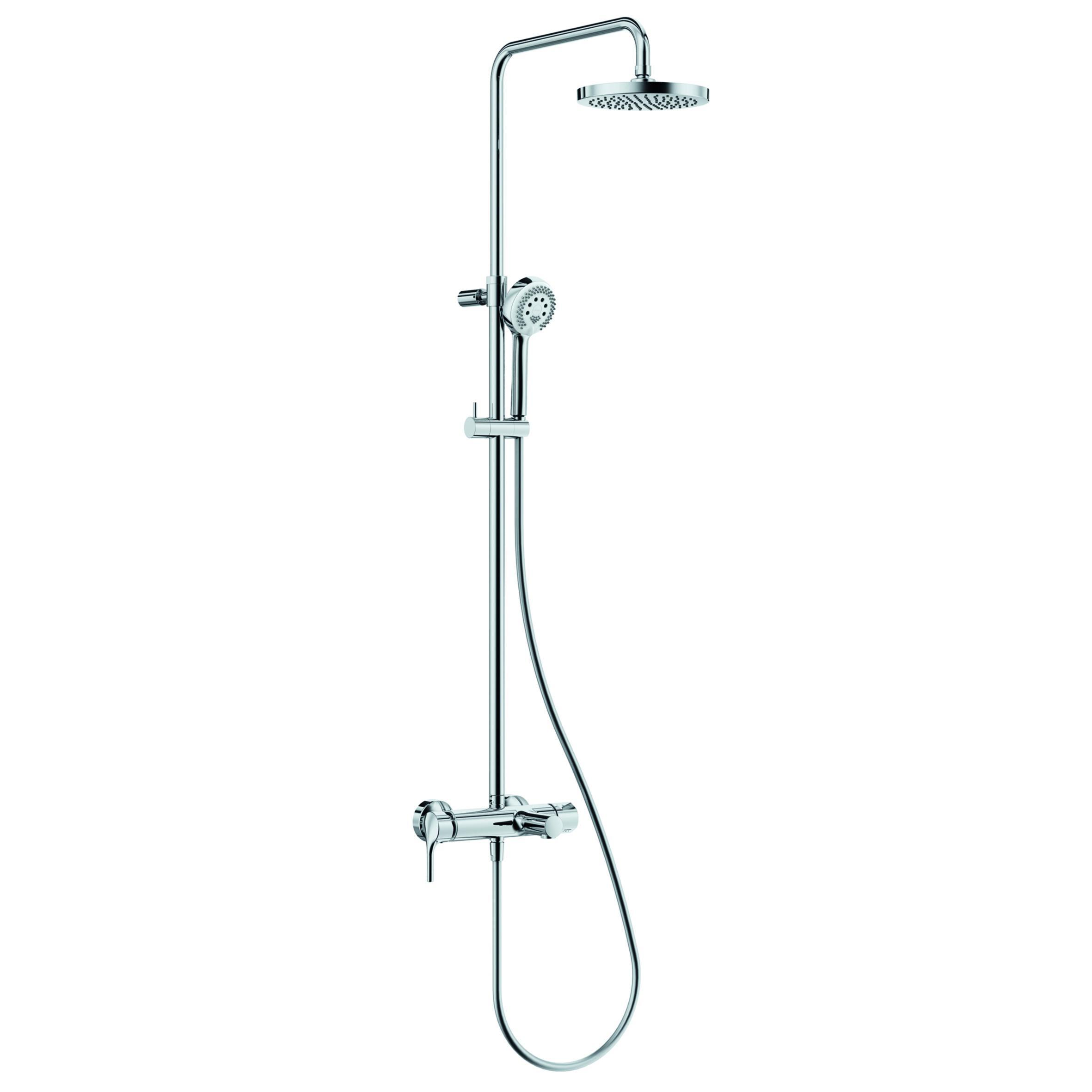 Душевой гарнитур Kludi Logo dual shower system 6808305-00 смеситель для кухни kludi logo neo 379130575