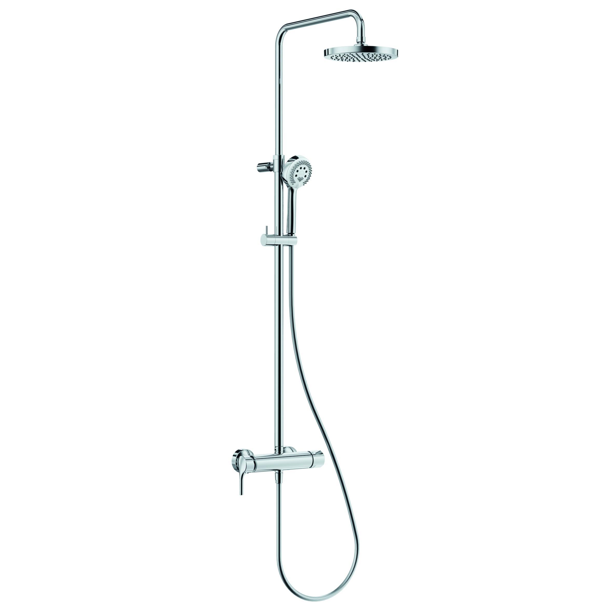 Душевой гарнитур Kludi Logo dual shower system 6808505-00 смеситель для кухни kludi logo neo 379130575