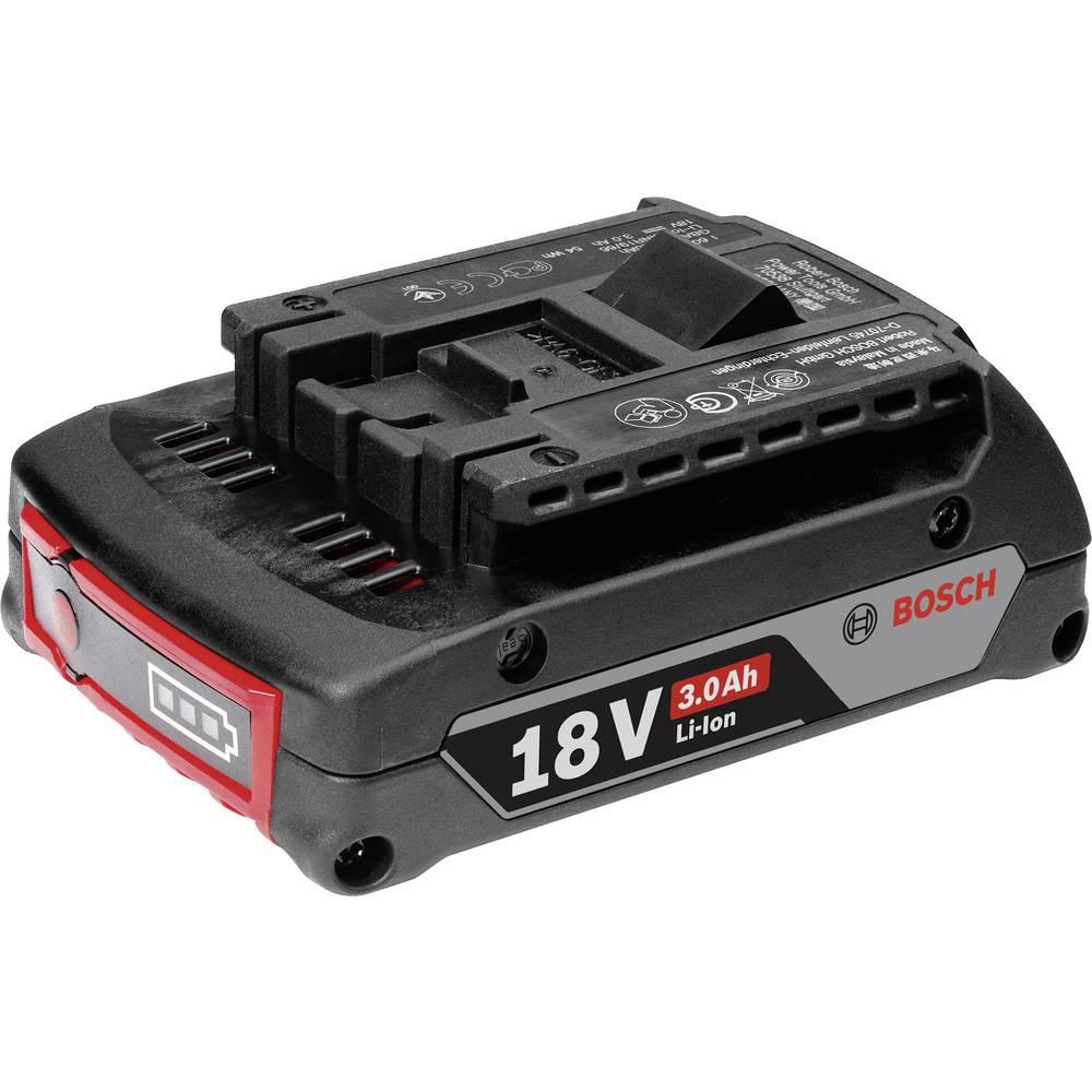 Аккумулятор Bosch 18v 3,0 ah набор bosch дрель аккумуляторная gsb 18 v ec 0 601 9e9 100 адаптер gaa 18v 24