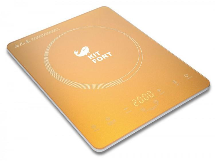 Плитка электрическая Kitfort КТ-110-1 ultra slim