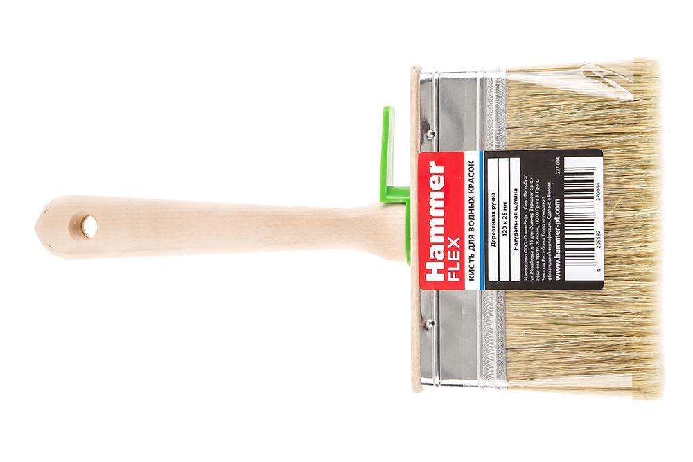 Кисть плоская Hammer 237-004