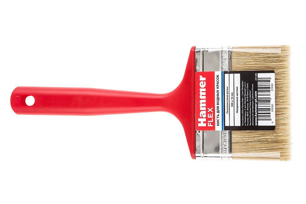 Кисть флейцевая Hammer 237-008