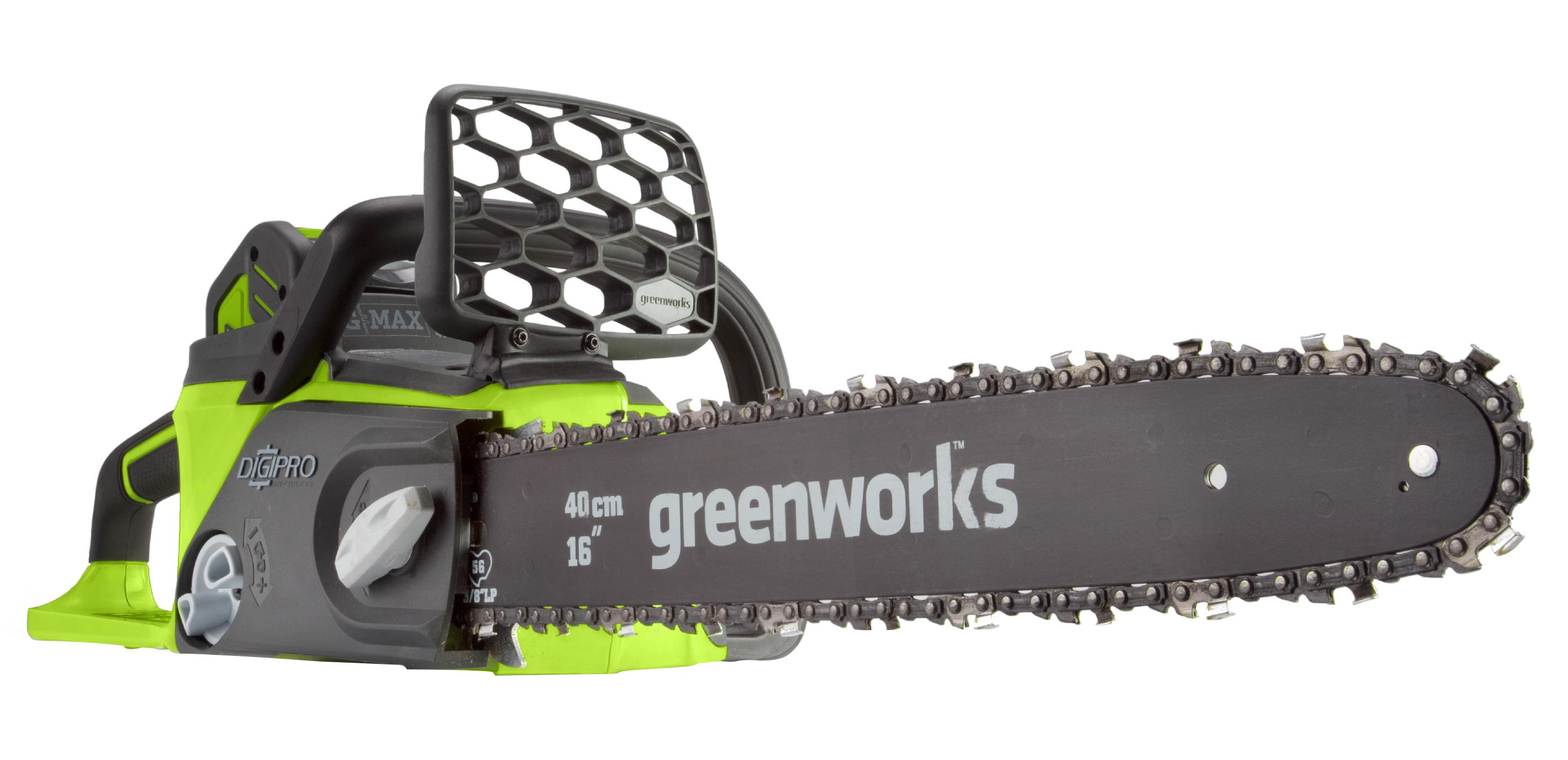 Пила цепная аккумуляторная Greenworks Gd40cs40k4 (20077ub) 1акк 40В 4Ач + ЗУ