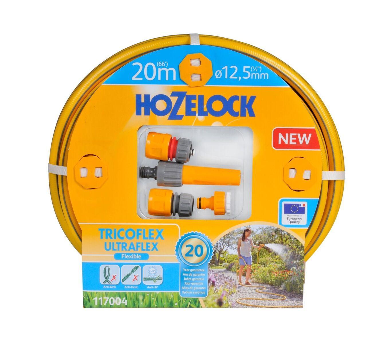 Набор Hozelock 117004 tricoflex ultraflex starter set