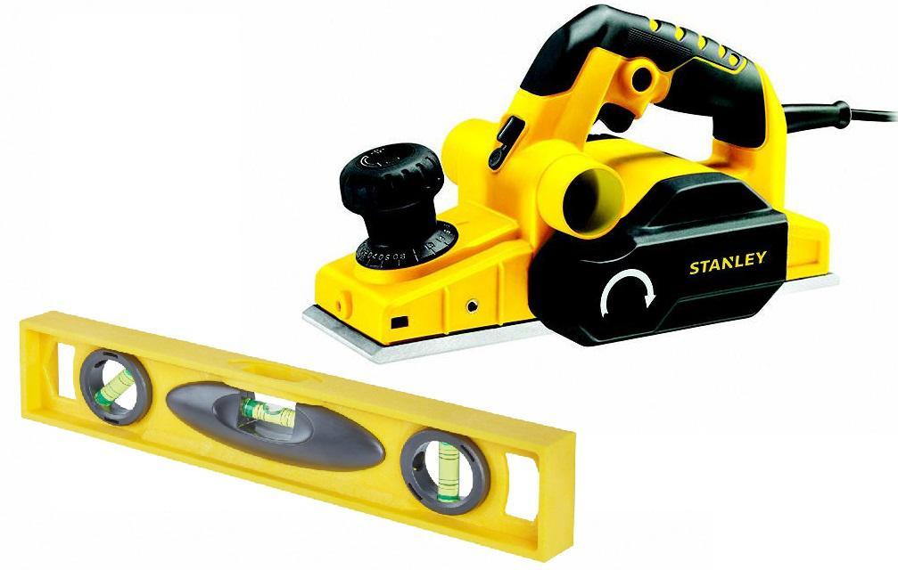 Набор Stanley Рубанок stpp7502-b9 +Уровень 1-42-474 точило stanley stgb3715 b9