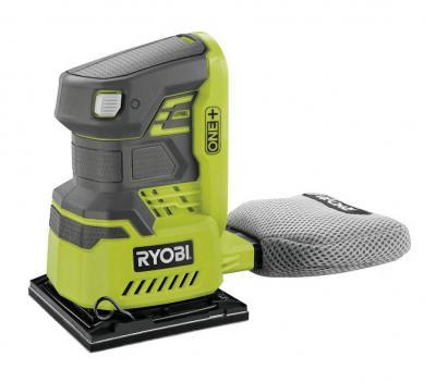 Машинка шлифовальная плоская (вибрационная) Ryobi 3002918 (r18ss4-0)