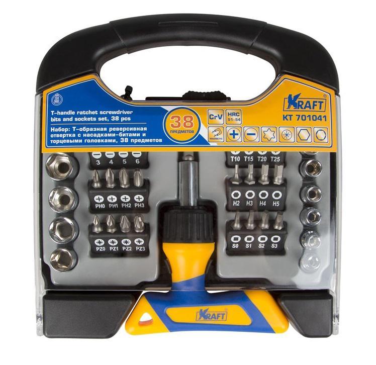 Отвертка Kraft Kt 701041 набор отверток kraft kt 700401