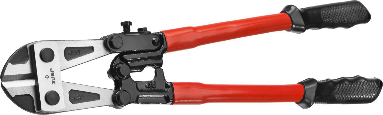 Болторез ЗУБР 23313-045 болторез зубр 23313 107 кованые губки из инструментальной стали 1050 мм