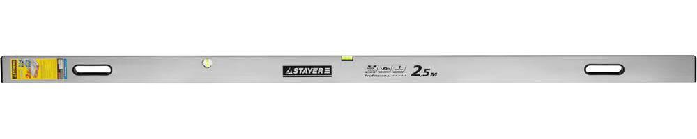 Уровень Stayer Professional 10752-2.5 набор резьбонарезной трубный stayer professional 28260 h4