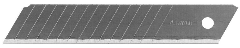 Лезвие для ножа Stayer 0916-s10 profi лента клейкая stayer profi 1217 25