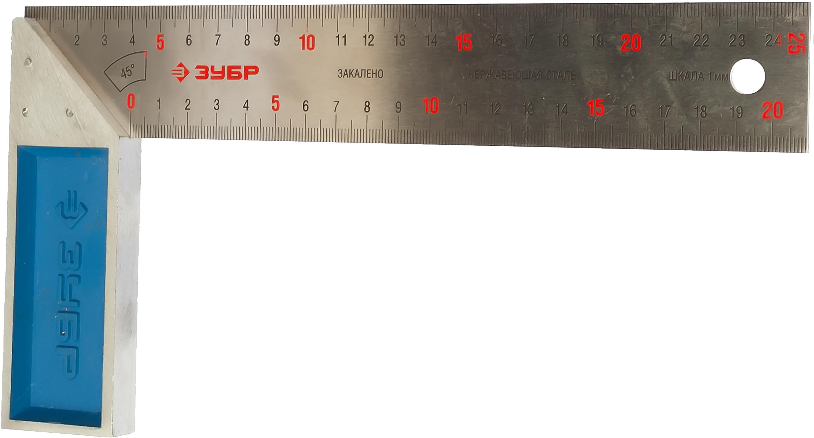 Угольник ЗУБР 34393-25 ЭКСПЕРТ очки защитные зубр эксперт 110235