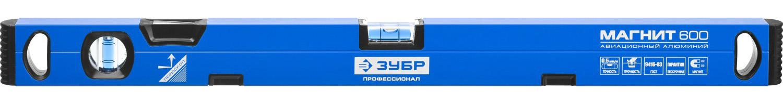 Уровень ЗУБР 34589-060 ПРОФЕССИОНАЛ МАГНИТ