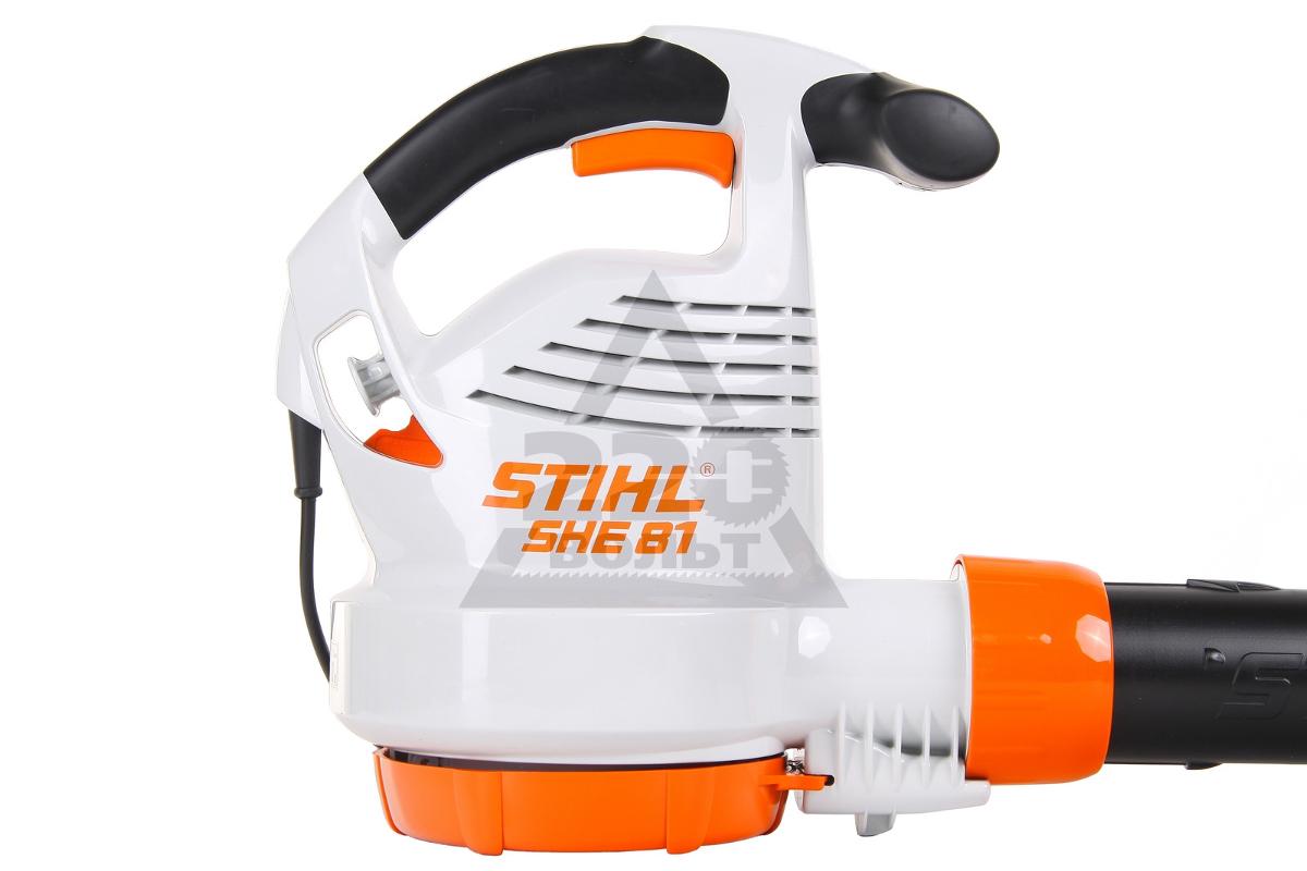 Электрический пылесос-воздуходувка stihl she 81 - купить, цена