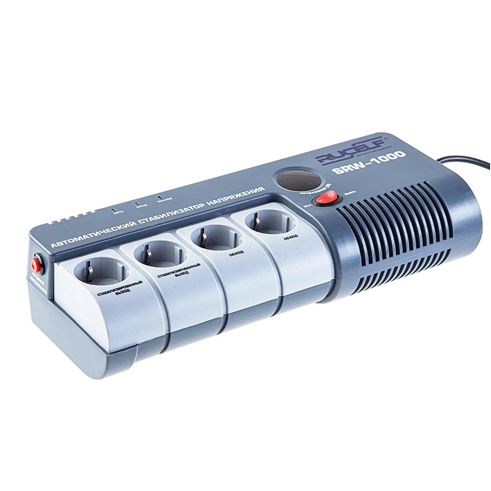 Стабилизатор напряжения Rucelf Srw-1000-d стабилизатор rucelf srw 5000va d
