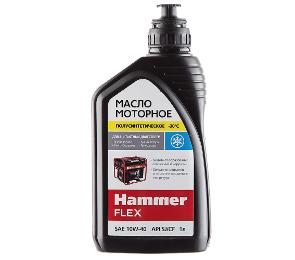 Четырехтактное полусинтетическое масло Hammer