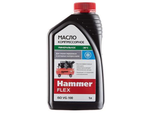 Масло компрессорное HAMMER 501-012 ISO VG-100, 1 литр
