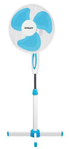 Вентилятор Scarlett Sc-sf111b04 вентилятор напольный scarlett sc sf111b04 белый и голубой [sc sf111b04]