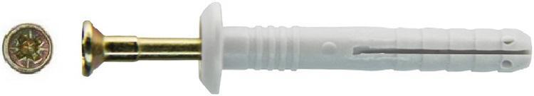 Дюбель-гвоздь Tech-krep 113143 дюбель гвоздь 6х40 гриб полипропилен 300шт пакет tech krep 125574