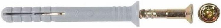 Дюбель-гвоздь Tech-krep 126858 дюбель гвоздь 6х40 гриб полипропилен 300шт пакет tech krep 125574
