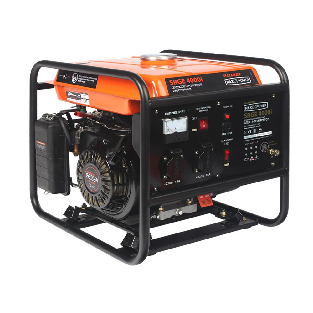 Генератор Patriot Maxpower srge 4000i (474101620) бензогенератор patriot srge 3500e