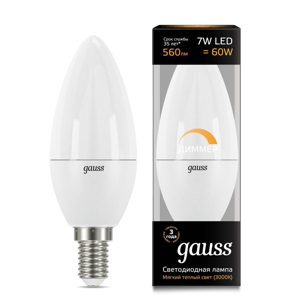 Лампа Gauss 103101107-d
