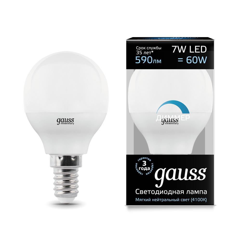Лампа Gauss 105101207-d