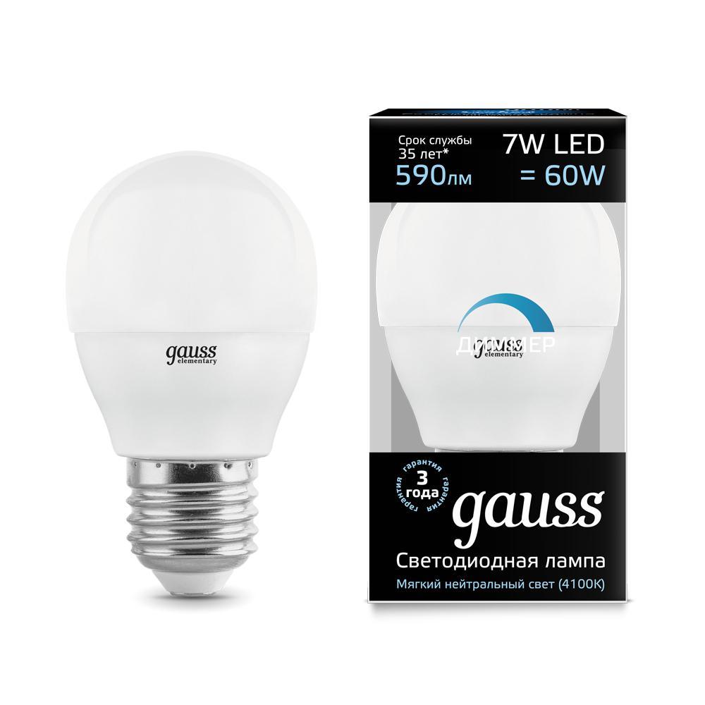 Лампа Gauss 105102207-d