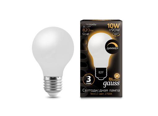 Лампа светодиодная GAUSS 102202110-D