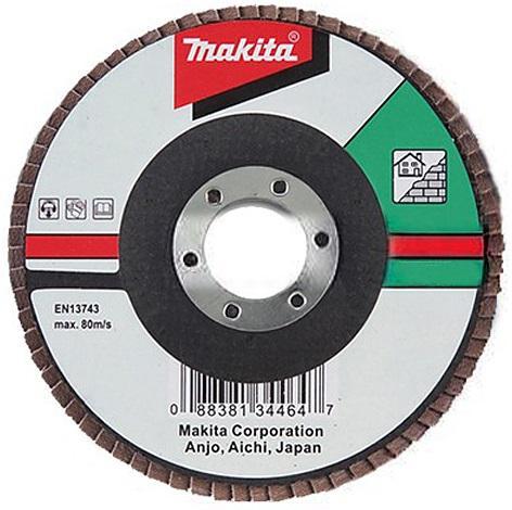 Круг Лепестковый Торцевой (КЛТ) Makita D-28092 круг лепестковый торцевой клт makita d 28092