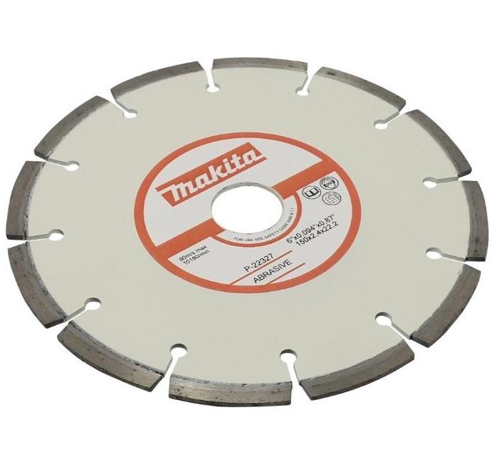 Круг алмазный Makita Ф150х22мм по бетону (p-22327)