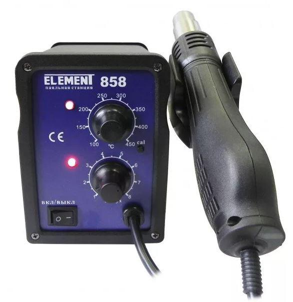 Фен технический Element 858 element для паяльной станции element 853aaa