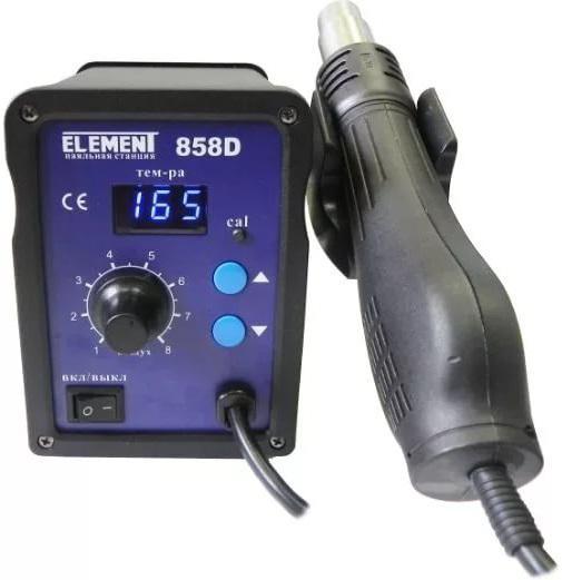 Фен технический Element 858d паяльный фен element 8032