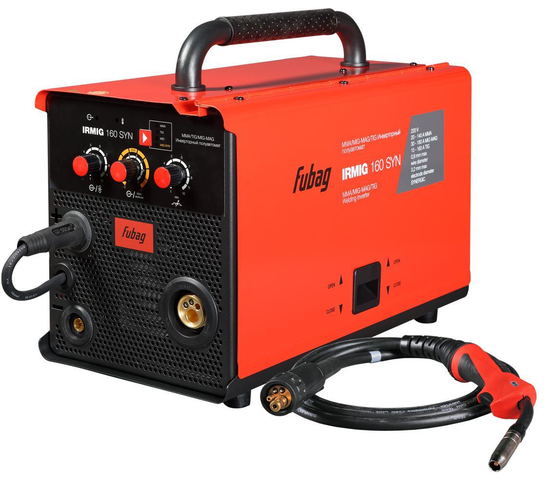 Сварочный полуавтомат Fubag Irmig 160 38607 + горелка fb 150 3 м сварочный аппарат fubag iq 160