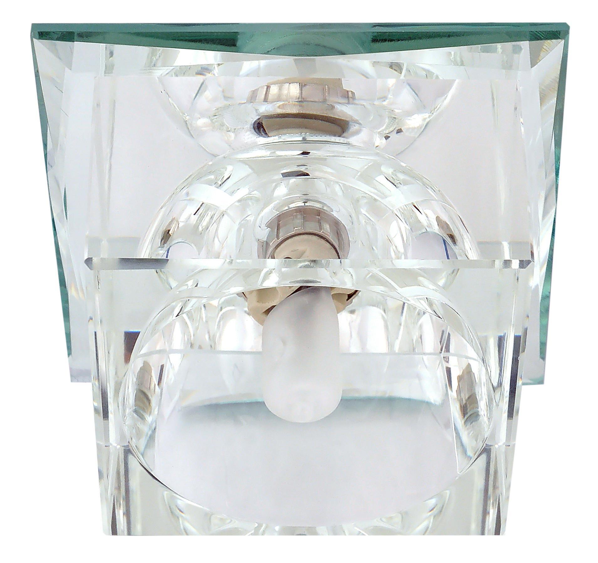 купить Светильник De fran Ft 9256 c куб серебро+прозрачный по цене 509 рублей