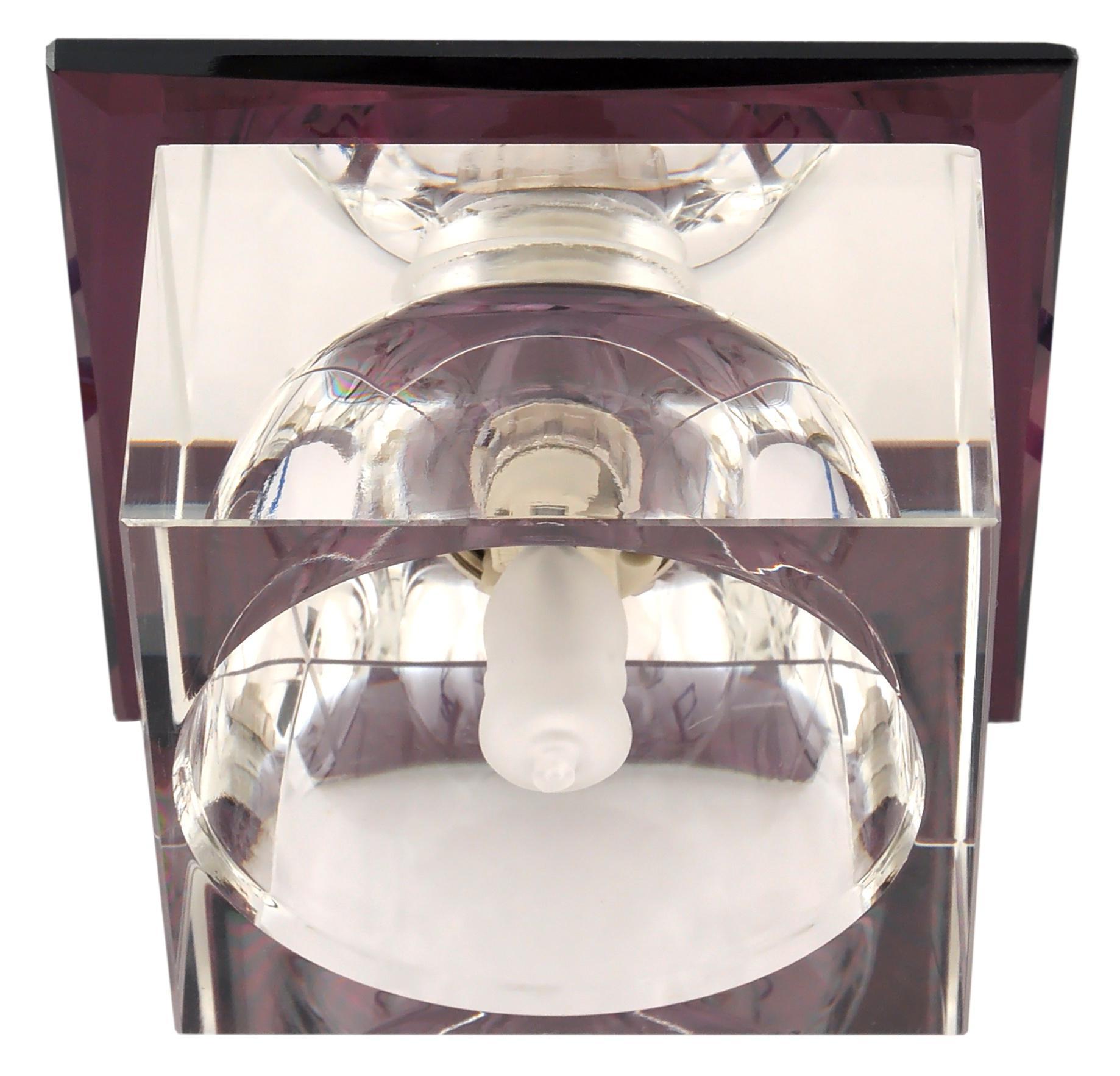 Светильник De fran Ft 9256 l куб серебро+сиреневый цены