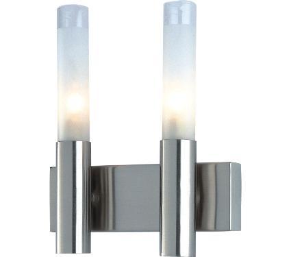 Бра DE FRAN WLK-022-2-SN матовое стекло сатин-никель