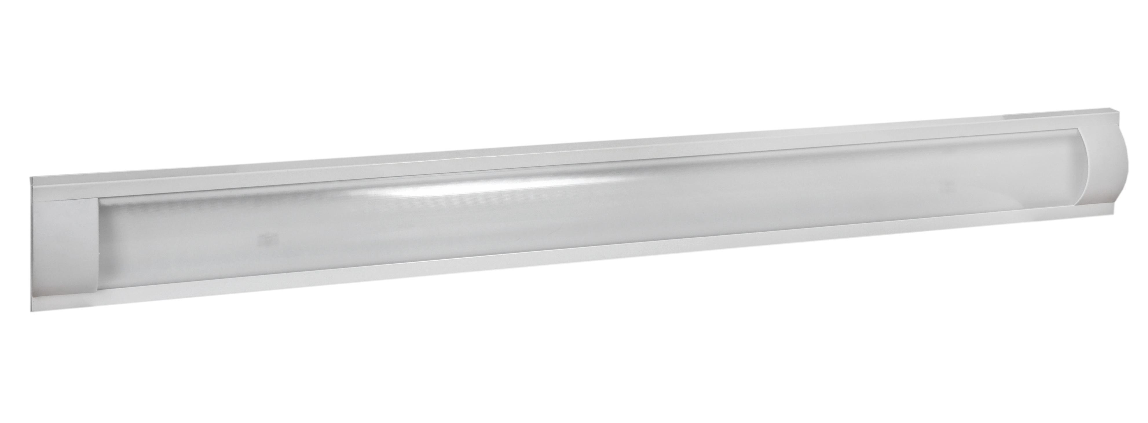 Светильник De fran Tl-3017 люминесцентный накладной т8 2*36Вт эпра без ламп белый цена