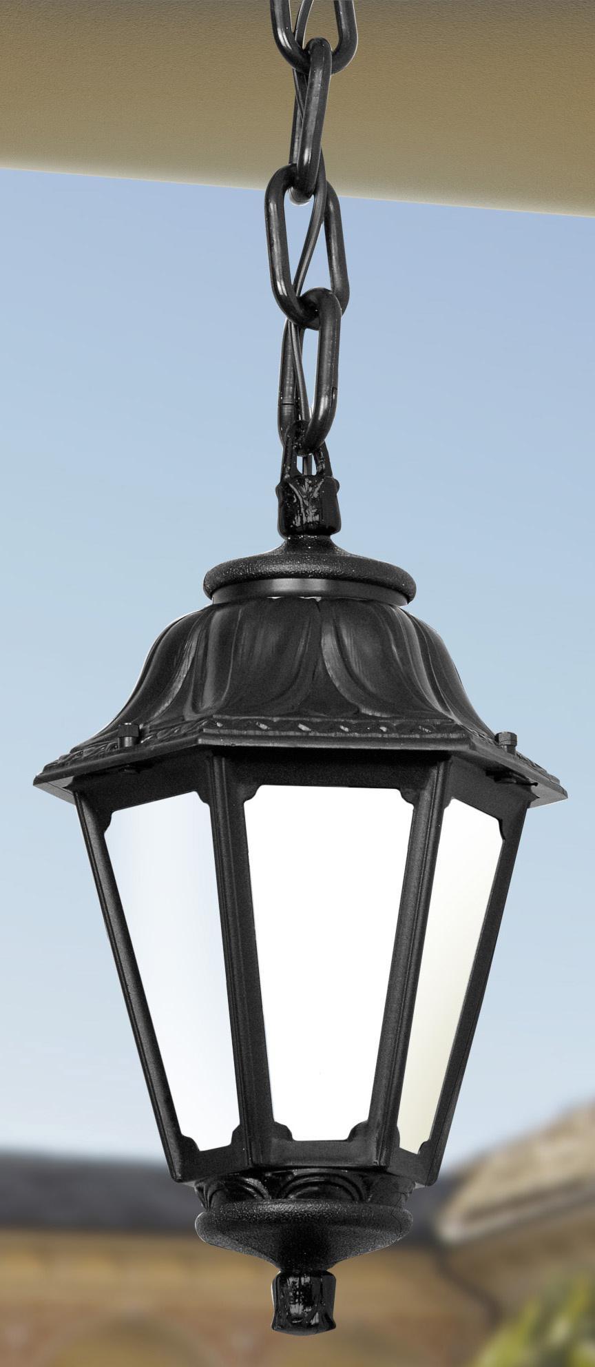 Светильник Fumagalli Anna sichem bm, уличный, производство: Италия, черный матовый цена