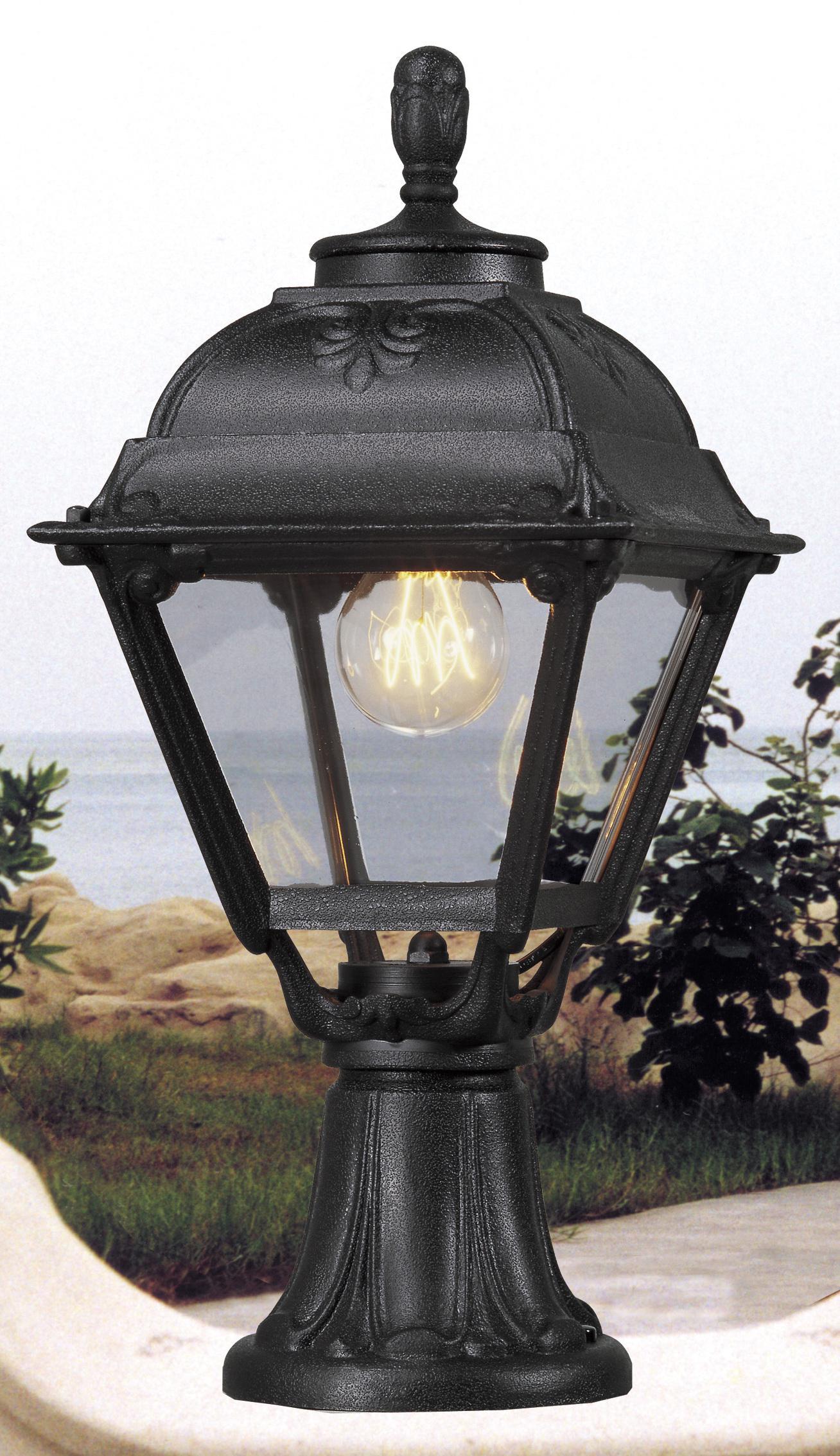 Светильник Fumagalli Cefa minilot, уличный, производство: Италия, черный прозрачный