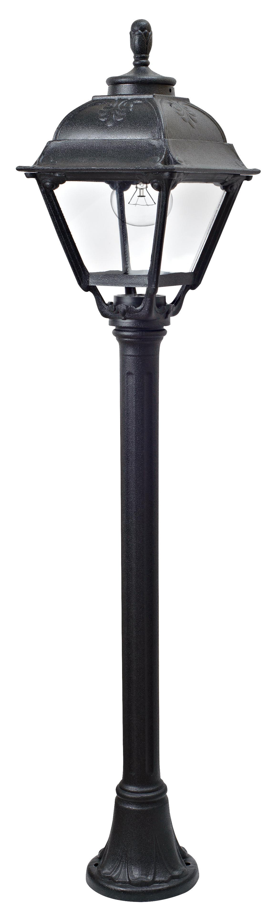 Светильник Fumagalli Cefa mizar, уличный, производство: Италия, черный прозрачный