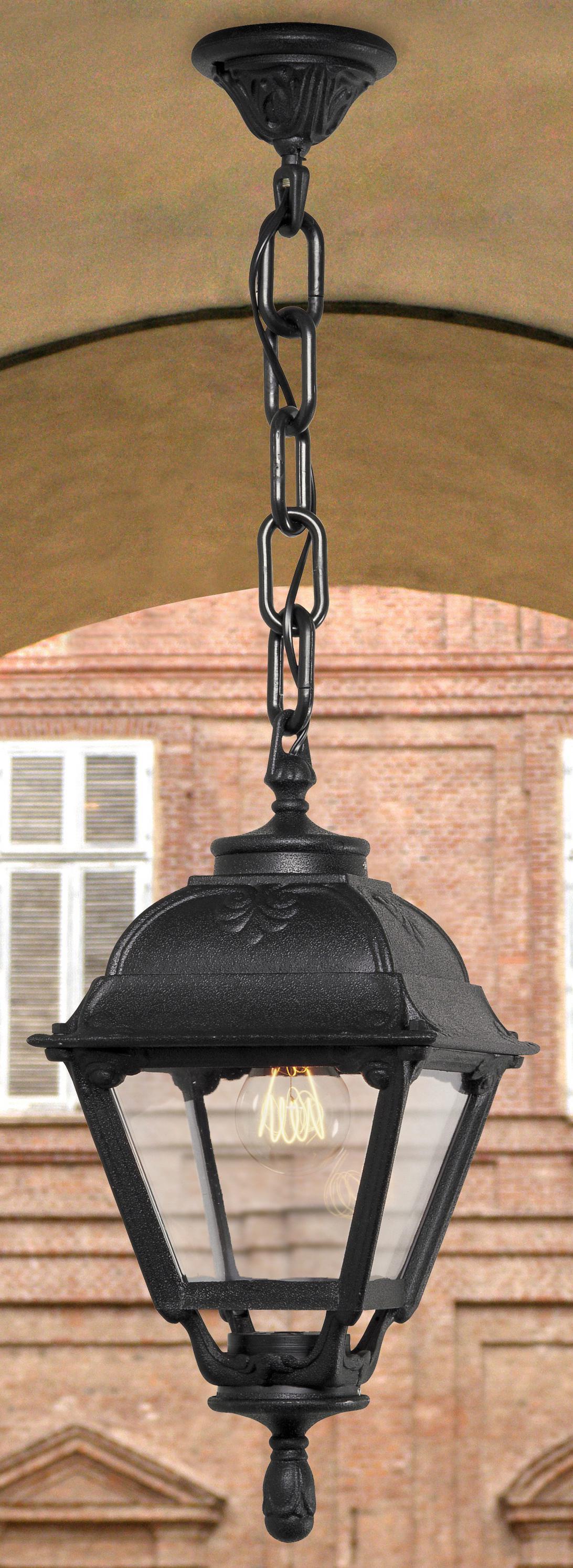 Светильник Fumagalli Cefa sichem, уличный, производство: Италия, черный прозрачный
