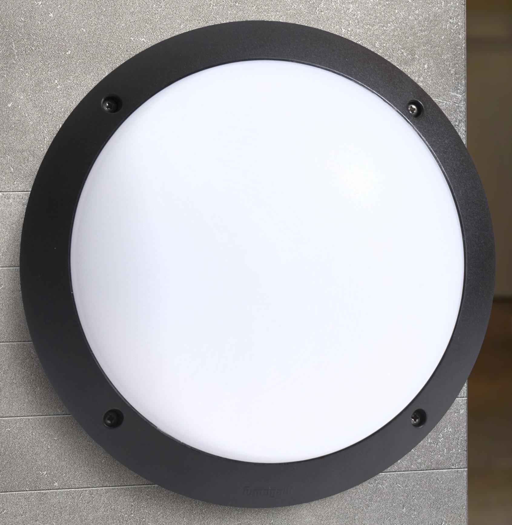 Светильник Fumagalli Lucia bm, уличный, производство: Италия, черный матовый цена