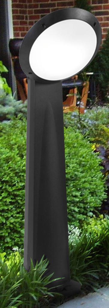 Светильник Fumagalli Lucia gabri remi 1l bmo, уличный, производство: Италия, черный матовый+оранжевая вставка цена