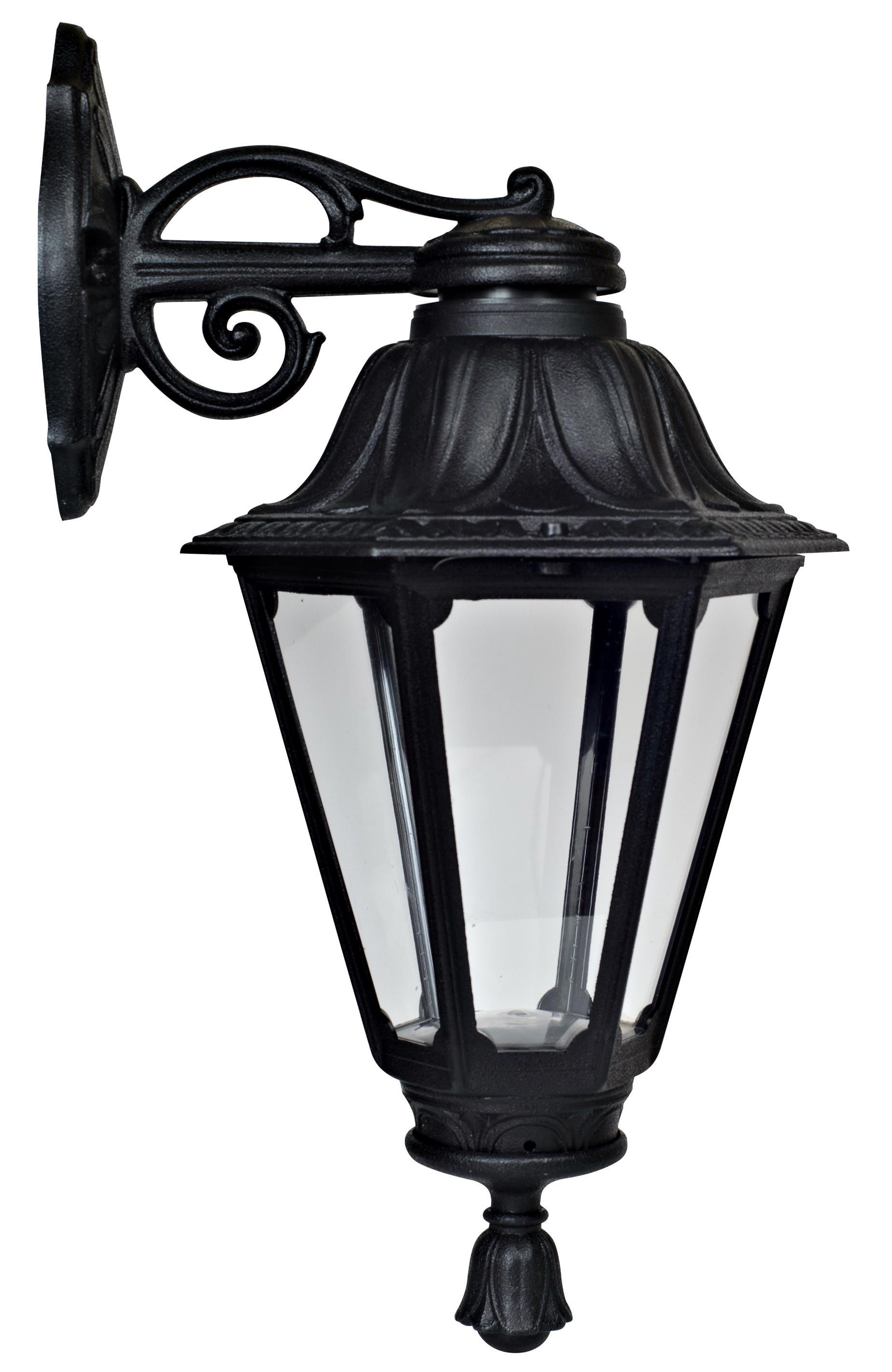 Светильник Fumagalli Rut bisso, уличный, производство: Италия, черный прозрачный