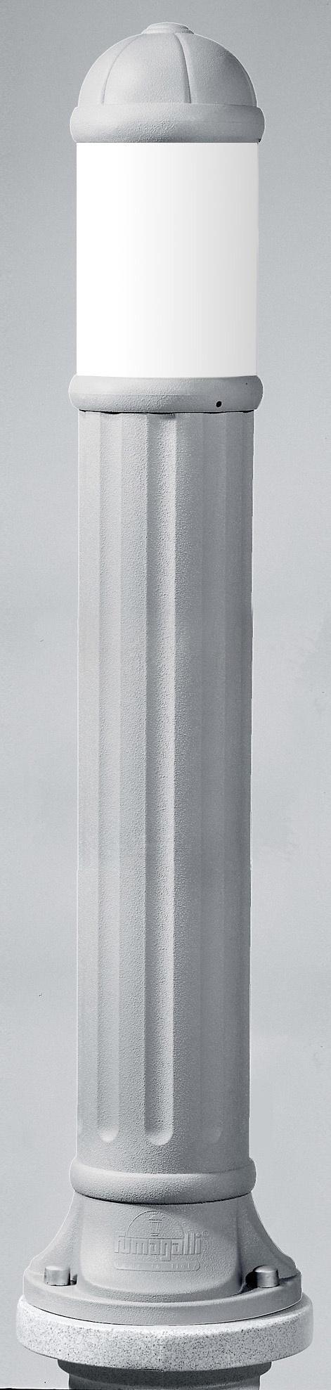Светильник Fumagalli Sauro 1100, уличный, производство: Италия, серый матовый