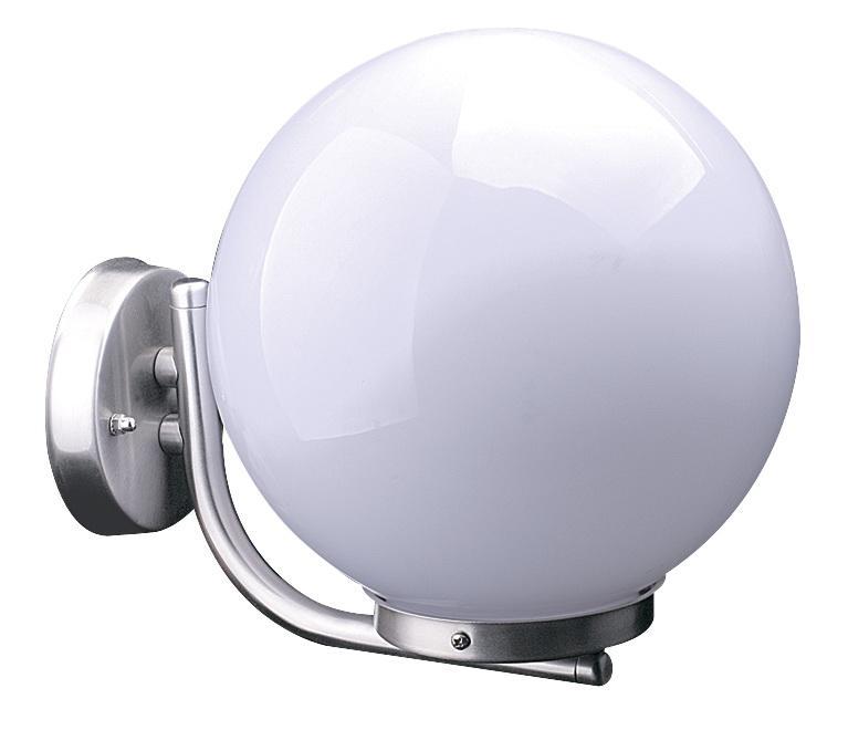 Светильник De fran Gpl-062up, уличный, нержавеющая сталь плафон-матовый шар рмма цена
