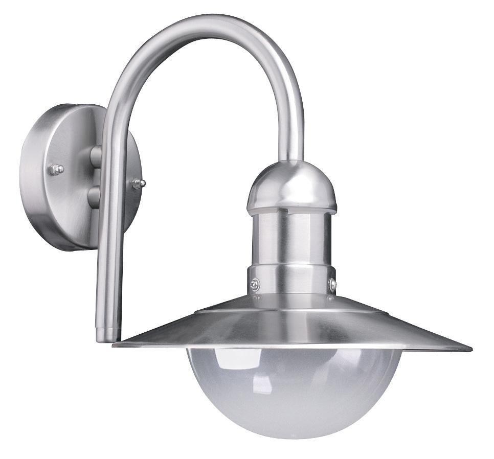 Светильник De fran Gpl-213dn, уличный, нержавеющая сталь плафон-прозрачный рс цена