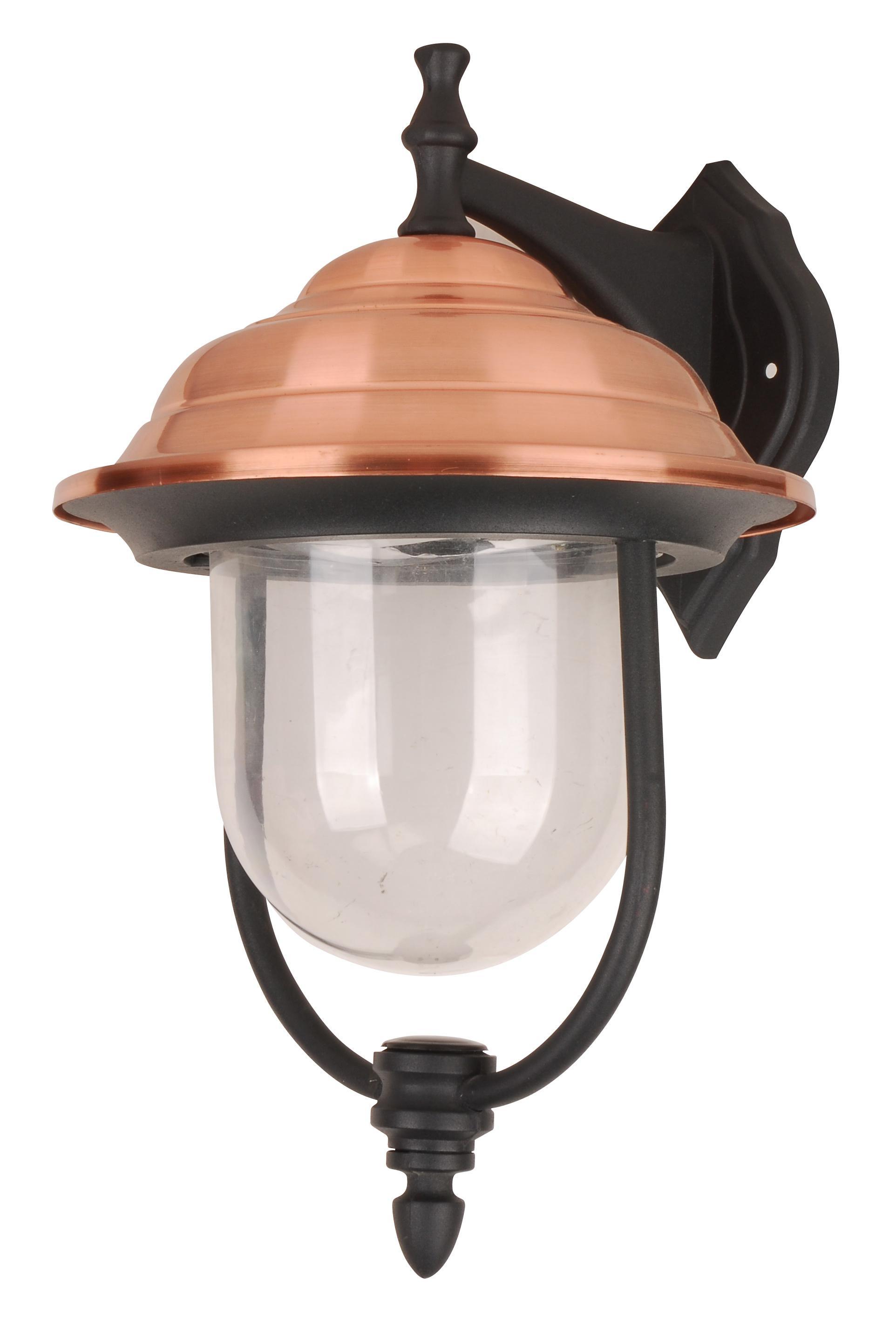 Светильник De fran Tv-799dn, уличный, пластик медь+черный